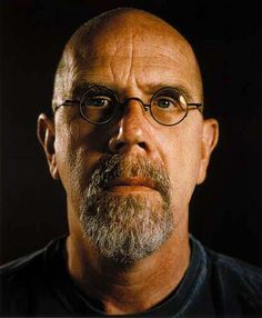 Chuck Close. One of my art heroes - and a truly beautiful person, inside and out.