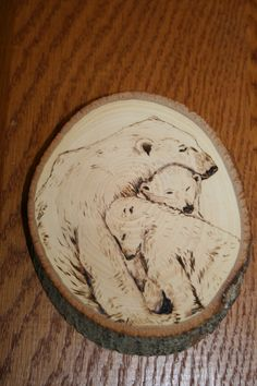 wood burning by Ron Jurcak