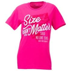 Bass Pro Shops Size Matters T-Shirt for Ladies - Heliconia - S