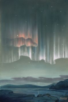 Astrophotos Giclee Print: Drape-Like Shapes are Formed by Aurora Australis Near Antarctica by William H. All Nature, Science And Nature, Aurora Borealis, Beautiful Sky, Beautiful World, New Zealand Mountains, New Zealand Art, To Infinity And Beyond, Natural Phenomena