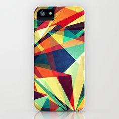 Broken Rainbow iPhone & iPod Case by VessDSign -