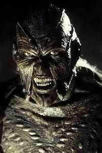 Jeepers Creepers....he is a creeper that sniffs people out and he kills them to take a body part that he can use to make himself stronger.  He will take eyes, limbs, organs, whatever he needs.