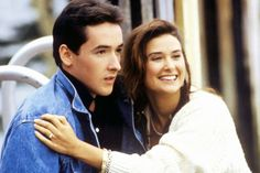 John Cusack, one crazy summer, un verano loco, demi moore Demi Moore, 80s Movies, Funny Movies, John Cusack Young, Everything Film, Are You Not Entertained, Cinema, See Movie, Gorgeous Men