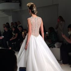 Stunning statement back on Alfred Angelo Style 950 #AngeloAccess