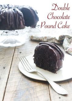 Chocolate Cake is a favorite dessert year round and the addition of an unexpected ingredient makes this Double Chocolate Pound Cake unforgettable.This cake is moist, tender, and filled with plenty of chocolate....