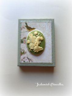 """Mini toile décorative série """" Songes de fleurs """" n°20 : Accessoires de maison par jademiel-etincelles"""