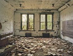 Abandoned classroom, North Border Island.  I'm fasinated with abandoned buildings and their stories....
