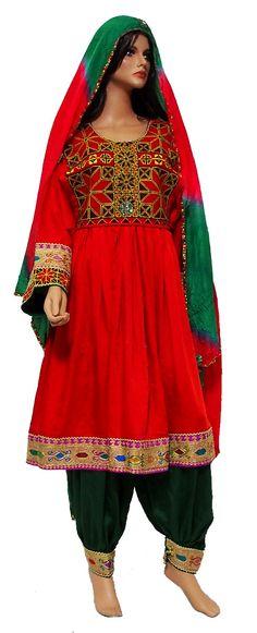 Afghan Nomadic Tribaldance woman's