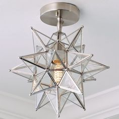 Check out Moravian Star Ceiling Light from Shades of Light