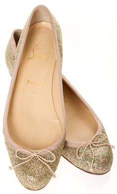 Christian Louboutin Flats @Michelle Coleman-HERS