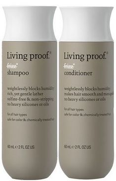 Living Proof No Frizz Shampoo and Conditioner | Allure's 2011 Best Shampoo and Conditioner for Frizzy and/or Curly Hair. #bestshampooforfrizzyhair
