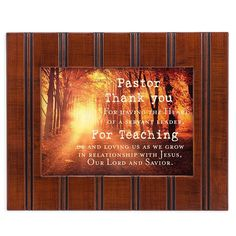 Pastor Thank You 8x10 Woodgrain Framed Art Wall Plaque Sign * You can get additional details at the image link. (This is an affiliate link and I receive a commission for the sales)