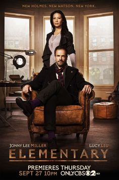 Elementary - good show just wish I could hear what Sherlock says.