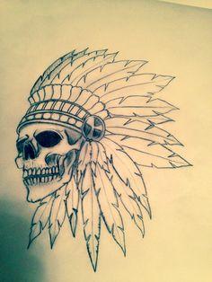 Indian Skull Outline Drawings, Tattoo Drawings, Mayan Symbols, Viking Symbols, Egyptian Symbols, Viking Runes, Ancient Symbols, Bullet Tattoo, Celtic Tattoos