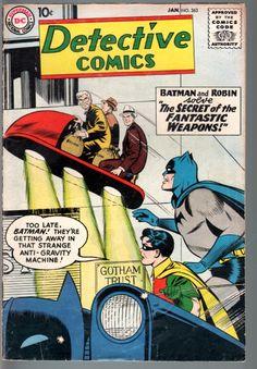DETECTIVE COMICS #263-19...