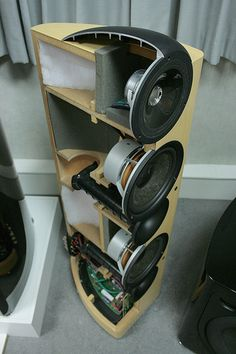 KEF Reference 203/2 Cutaway View | Flickr - Photo Sharing!