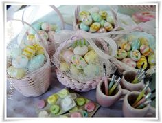 Easter Baskets Happy Little Muffin