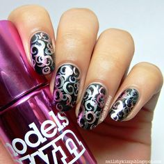 Nails By Kizzy: Stamping with Models Own Colour Chrome Collection