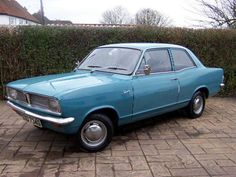 Vauxhall Viva 1200HB  Never drove one but Peter B's dad had one. You guessed it, he crashed it with me in there - twice. Never got in a car with him again.
