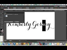 Create glitter text in Adobe Illustrator via Kim Gosney