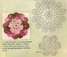 Flor croche