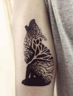 tatuajes wolf tattoo