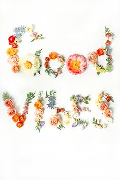 DIY Fresh Floral Art Prints - make them or print them....