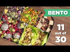 Bento Box Healthy Lunch 11/30 - Mind Over Munch - YouTube