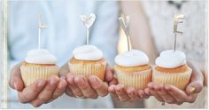 Pewter cake/cupcake toppers from Lisa Leonard Designs. Cool Wedding Cakes, Wedding Desserts, Love Cake Topper, Love Cupcakes, Wedding Cake Inspiration, Diy Cake, Cute Cakes, Cupcake Toppers, Our Wedding