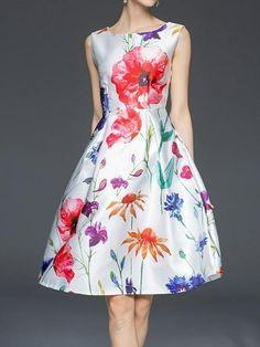 ファッション大人の雰囲気 上品綺麗ライン花柄フレアワンピースは格安とか人気のものなどいろいろな種類があり、ここで。一番のサービスと最高品質の商品Doresuweで提供しています。