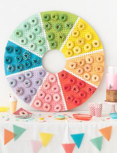 Donut Color Wheel | Oh Happy Day! | Bloglovin'
