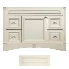Architectural Bath Tuscany Vanilla Traditional Bathroom Vanity Common 48 In X 21