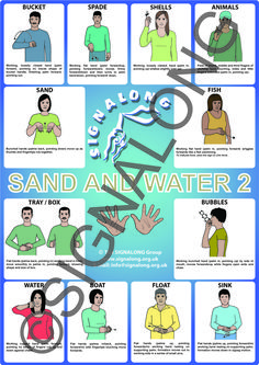 Sand and Water - Beach signs - BSL (British Sign Language) Sign Language Book, Sign Language Alphabet, British Sign Language, Learn Sign Language, Makaton Signs, Asl Signs, Bsl, Sand And Water, Cerebral Palsy