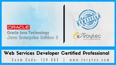 #JavaEnterpriseEdition5  #WebServicesDeveloper Certified Professional Upgrade Exam #1Z0_863 #iTroytec #Infographics