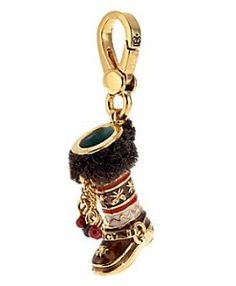 Juicy Couture ugg boot charm
