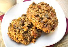 Orange Oat Cookies