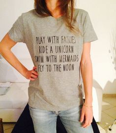 play with fairies ride a unicorn swim with mermaids by Nallashop