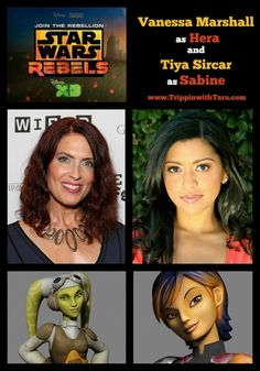 Star Wars Rebels: Vanessa Marshall and Tiya Sircar #StarWarsRebels