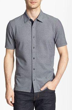 Michael Kors Bird's Eye Knit Shirt available at #Nordstrom