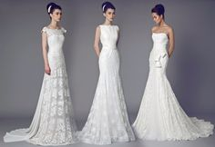 Wedding gowns by Tony Ward