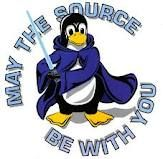 May the source be with you: an intro to open source software Computer Humor, Open Source, Linux, Science And Technology, Smurfs, Nerdy, Software, Geek Stuff, Fonts