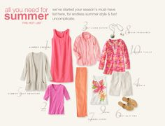 See What's New > all you need for summer at J. Jill/2013