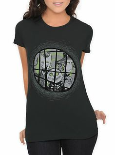 e95afc8a092 The Nightmare Before Christmas Lock Shock And Barrel Girls T-Shirt