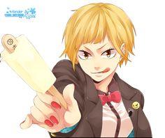 Render Animes et Manga - Renders Haikyuu Saeko Tanaka Fille Glace Blonde