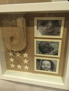 J is for Jacob Box Frame. Made this as a Christening Gift for my GodSon                                                                                                                                                                                 More