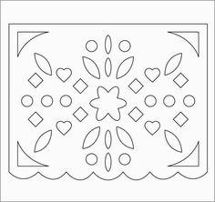 Free Printable Papel Picado Template Fabulous Best 25