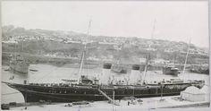 "Imperial yacht ""Standart"" In Sebastopol Crimea, 1914."