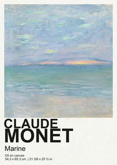 Poster Wall, Poster Prints, Art Exhibition Posters, Claude Monet, Collage Art, Wall Prints, Modern Art, Cool Art, Wallpapers