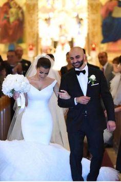 Glamorous Off the Shoulder Tulle Mermaid Wedding Dress Wedding Dresses 2018, Tulle Wedding, White Wedding Dresses, Cheap Wedding Dress, Mermaid Wedding, Bridesmaid Dresses, Lace Mermaid, Gown Wedding, Prom Dresses