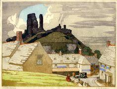 Corfe Castle Sylvan Boxsius
